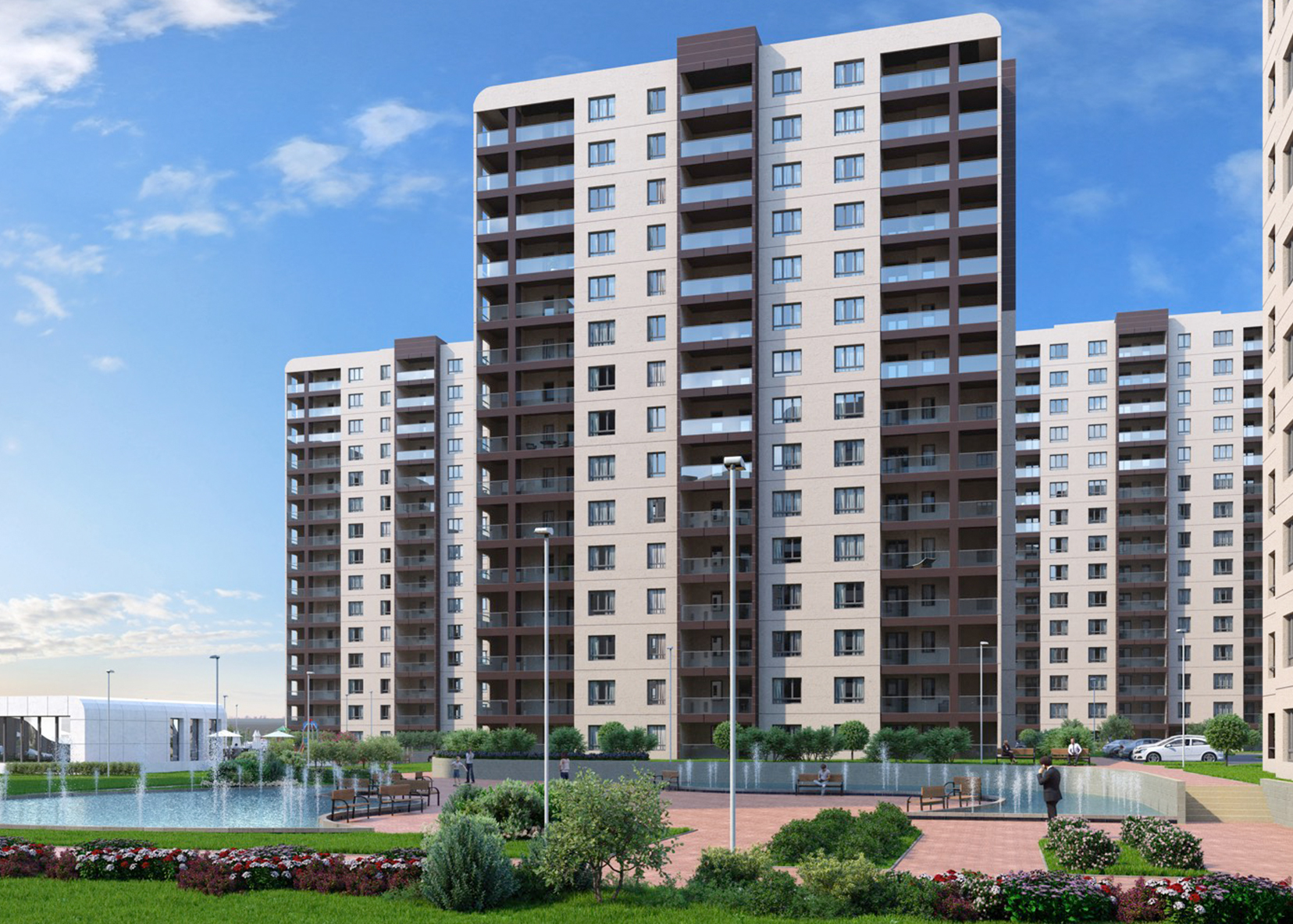 Apartments for sale in a great location and view in Ghazi Osman – Bursa | TAJ-3089