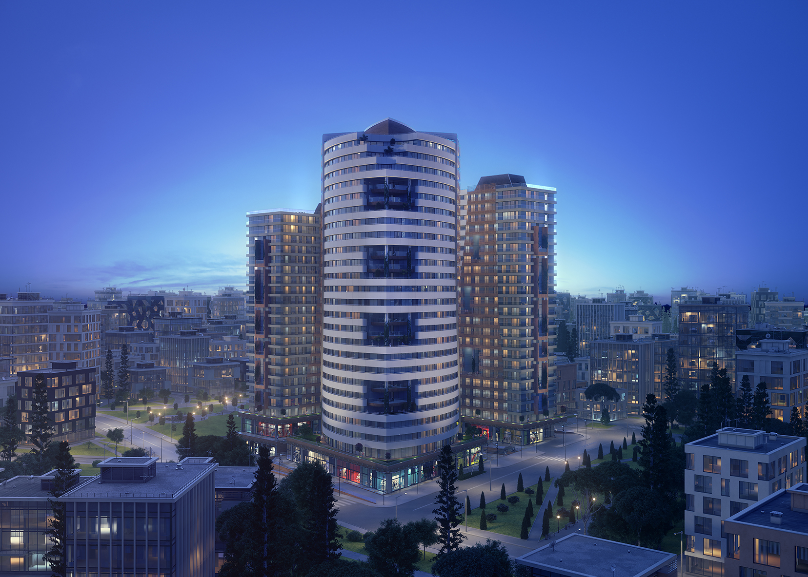 Luxury residential towers with stunning views of Kadıköy area – Istanbul TAJ-3092