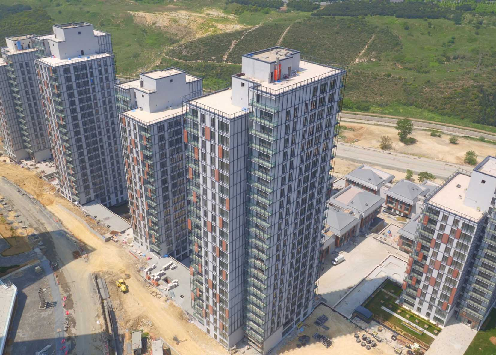 Apartments and residential villas in Başakşehir TAJ-3097